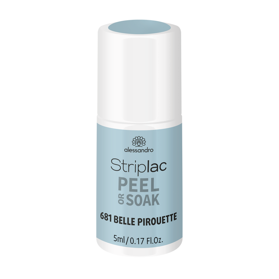 Striplac Peel or Soak -Belle Pirouette 681 - limited edition 5ml