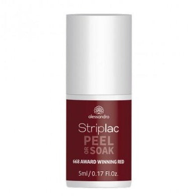 Striplac Peel or Soak - Award Winning red 668 - limited edition 5ml