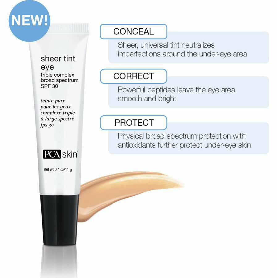 Sheer tint Eye - broad spectrum SPF30