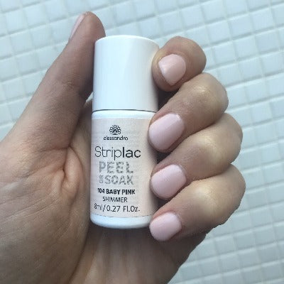 Striplac Peel or Soak - Baby Pink 104