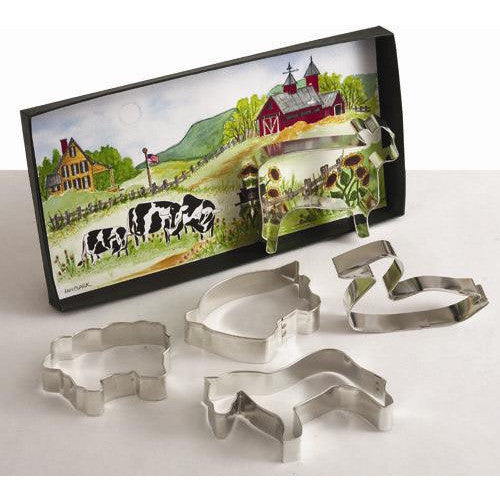 AC On the Farm Gift Set Cookie Cutter (High Quality)
