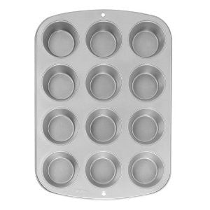 Wilton  Recipe Right Muffin Pan Non Stick 12 cup