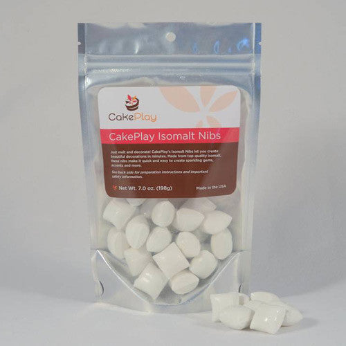 CakePlay White Ready to Melt Isomalt Nibs (200gr)
