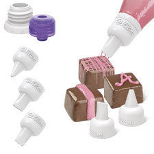 Wilton Candy Melts Decorating Tip Set, 5-Pc.