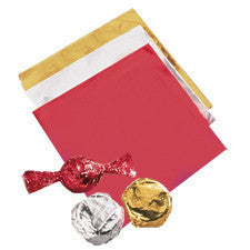 Wilton Foil Wrappers Red 50pcs
