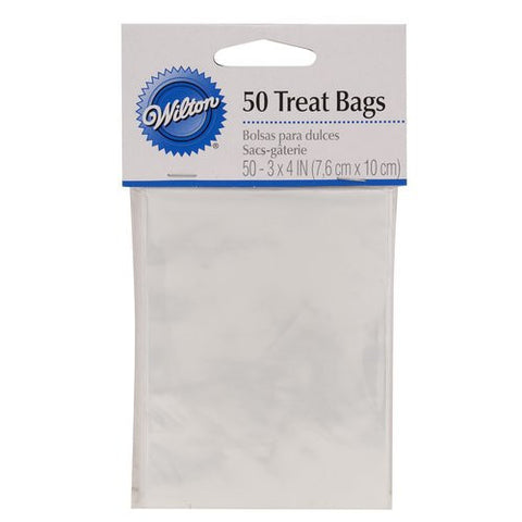Wilton Clear Treat Bags (50pcs)