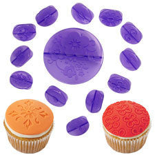 Wilton 14-Pc. Flowers Fondant Cupcake Decorating Set