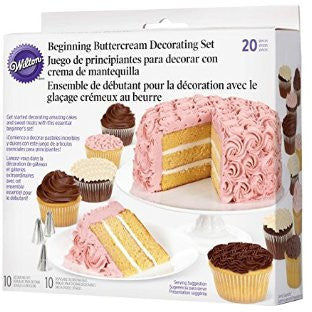 Wilton 20-Pc. Beginning Buttercream Decorating Set