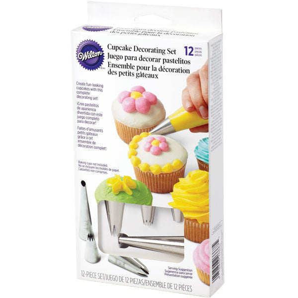 Wilton 12 Pieces Cupcake Decorating Set
