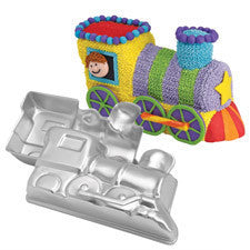 Wilton Choo-Choo 3-D Train Pan Set