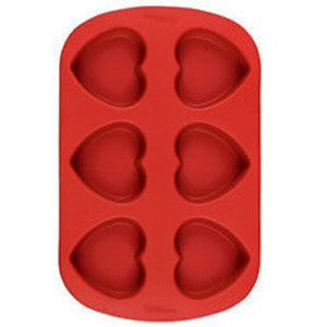 Wilton Mini Heart Silicone Mold