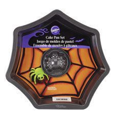 Wilton 2-Pc. Web With Spider Cake Pan Set