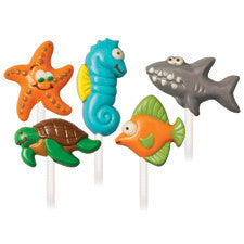 Wilton Sea Creatures Lollipop Mold