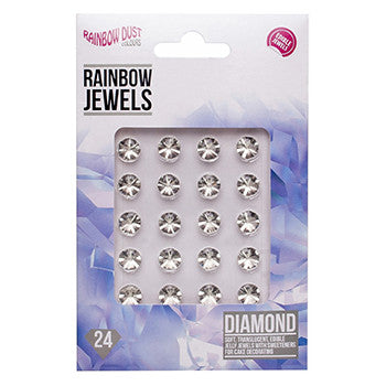 Rainbow Dust Jewel Diamond Edible (24pcs)