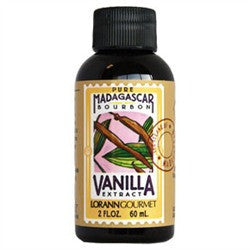 Lorann Oil Madagascar Vanilla Extract Pure (60ml) 2oz