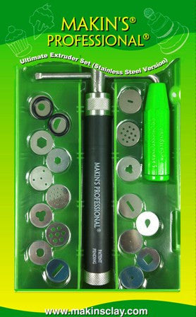 Makin's Professional® Ultimate Extruder Set  (Stainless Steel version)