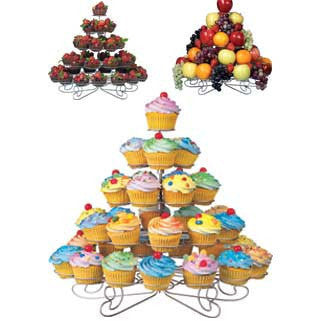 Wilton Cupcakes 'N More® 38 Count Large Dessert Stand