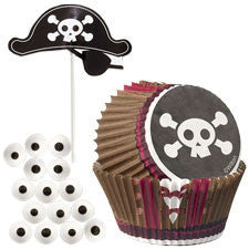 Wilton Pirate Cupcake Decorating Kit