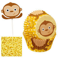 Wilton Monkey Cupcake Decorating Kit
