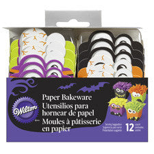Wilton Monster Disposable Paper Bakeware, 12 Ct.