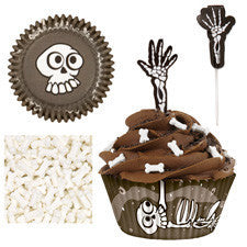 Wilton Skeleton Cupcake Combo Pack (24)