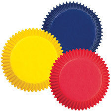 Wilton Assorted Primary Colors Baking Cups