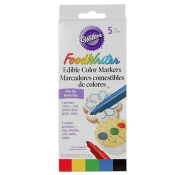 Wilton FoodWriter™ Primary Colors Edible Color Markers Fine