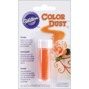 Wilton Orange Color Dust