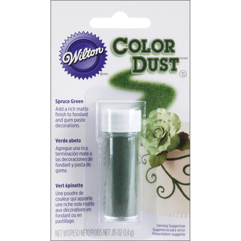 Wilton Spruce Green Color Dust