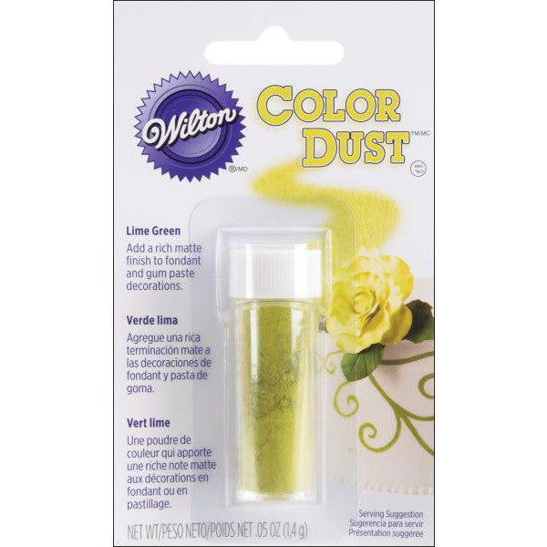 Wilton Lime Green Color Dust