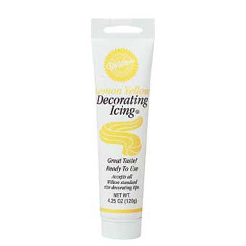 Wilton Icing Tube Yellow