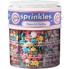 Wilton Flowerful Medley 6-Mix Sprinkle Assortment