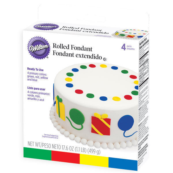 Wilton Primary Colors Fondant