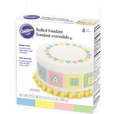 Wilton Pastel Colors Fondant
