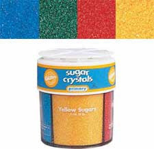 Wilton Primary Sugars 4-Mix Sprinkles