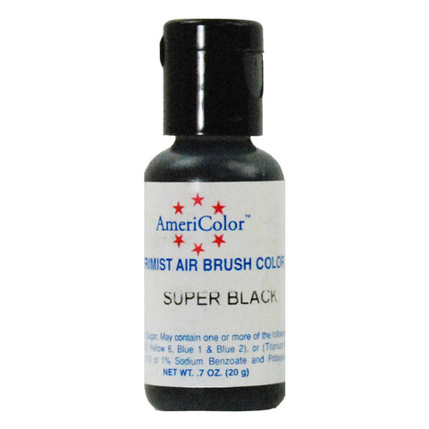 Americolor Amerimist Air Brush Color Super Black 20gr