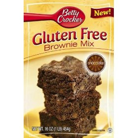 "Betty Crocker Brownie ""Gluten free"""