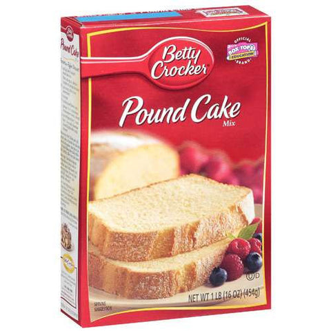 Betty Crocker Pound Cake Mix (455gr)