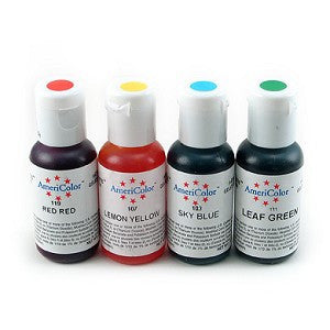 Americolor Soft Gel Paste Beginner kit (4pcs)