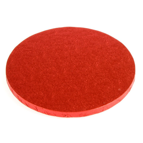 Cake Drums Red 10inch(25cm Diameter)