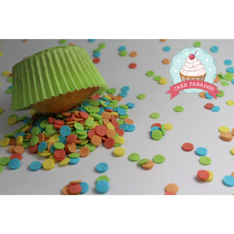 CP Confetti colored 6mm (125gr)
