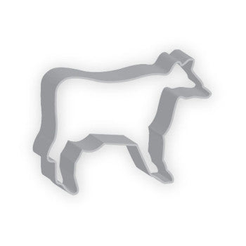 AAC Cow Cookie Cutter (8.9cm)