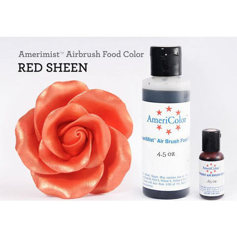 Americolor Amerimist Air Brush Color Red Sheen 20gr