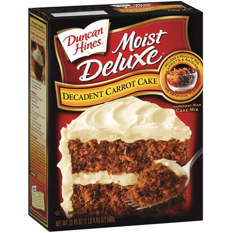 Duncan Hines Decadent Carrot Cake