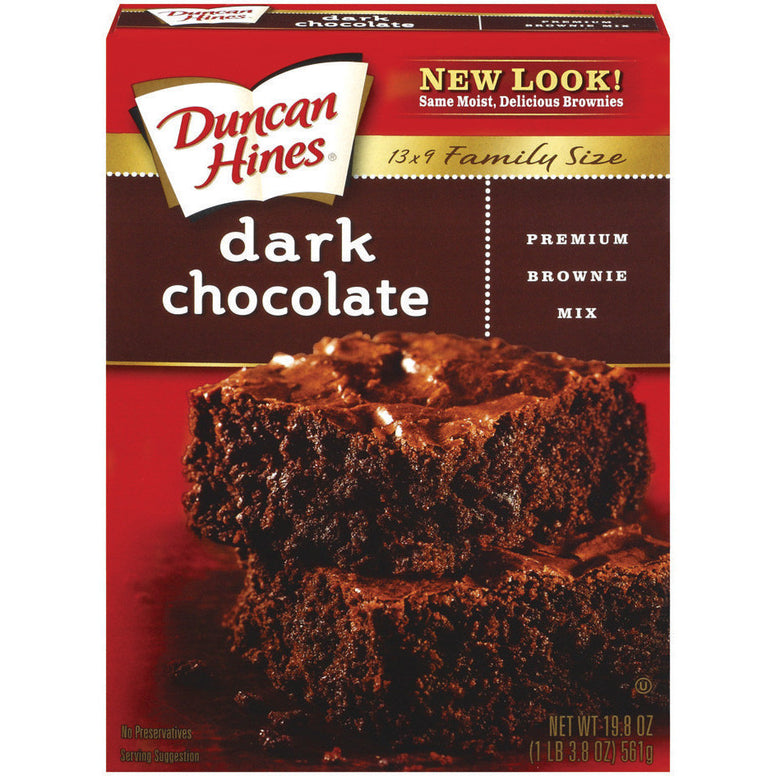 Duncan Hines Dark Chocolate Brownie