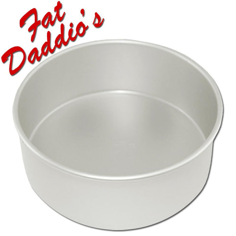 Fat Daddio 's Round Pan 8in(20cm) 3in Deep(7.5cm)
