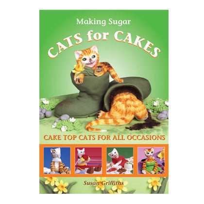 Making Sugar Cats for Cakes by Susan Griffiths