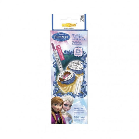 Frozen Cupcake Painting Kit 16pcs Kit
