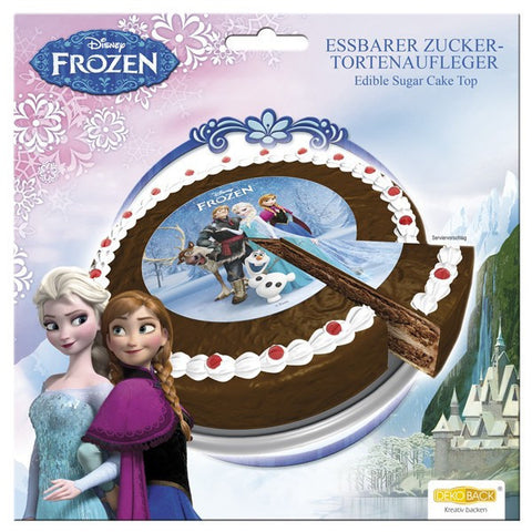 DB Frozen Cake Top Edible Sugar 16cm