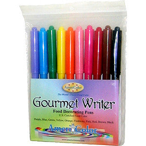 Americolor Gourmet Writer Pen 10 color set.